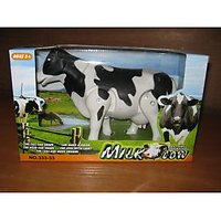 Battery Operated Walking Milk Cow Toy ___ (WITH CELL)