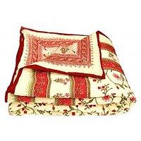 Bajya World Famous Jaipuri Double Bed Cotton Razai / Quilt - 6804082