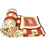 Bajya World Famous Jaipuri Double Bed Cotton Razai / Quilt - 6804098