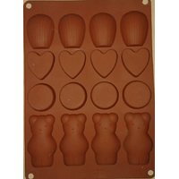 Different Shape Silicone Chocolate Mould. - 6813812