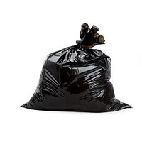 60 Bags Disposable Garbage Trash Waste Dustbin Bags For 60cm X 45cm (Black)