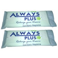 Always Plus Sanitary Pads (L) 12 Pieces