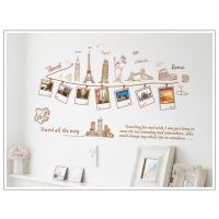 Home Decor Wall Stickers Famous Buildings With Photo Decorations For Home