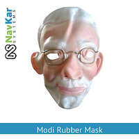 Modi Rubber Mask Very Popular In Fancy Competition