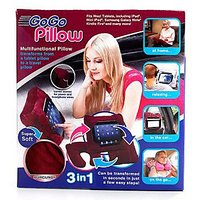3in1Go Gopillow Multi Functional Pillow Transform Into Tablet Pillow To Travel Pillow