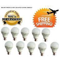 LED Bulb 3 Watt Set OF 10 Pcs High Power Cool Bright Light (A)
