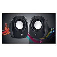 IBall 2.0 Sound Wave 2 Multimedia USB Speaker For PC Laptop Netbook - Black