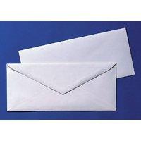 White Official Envelopes Pack Of 100 Envelopes