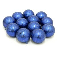Nice Decorative Balls For Christmas Tree Set Of 12 Blue