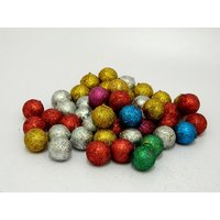 Multicolor Balls Christmas Tree Decor Hanging Balls Set Of 48
