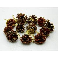 Christmas Pine Decor Set Of 12