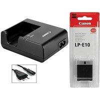Canon Canon LP-E10 Lithium-Ion Battery Pack + LC-E10E CHARGER INCLUDE [CLONE]