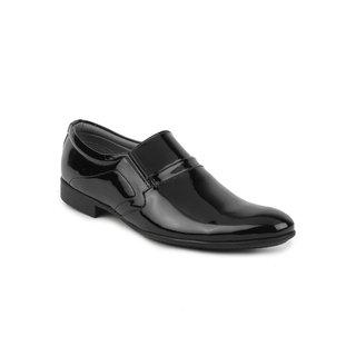 Metrogue Men's Black Party Wear Shoe