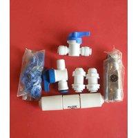 RO Flow Restrictor 420ML, Ball Valve, Bulk Head, Locks For RO Water Filter