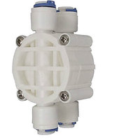 4 Way Auto Shut Off Valve For Reverse Osmosis RO System Water Filter