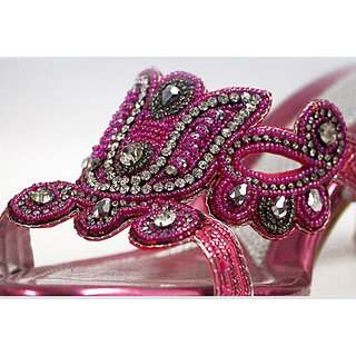 Diamond Studded Sandals - 6906832