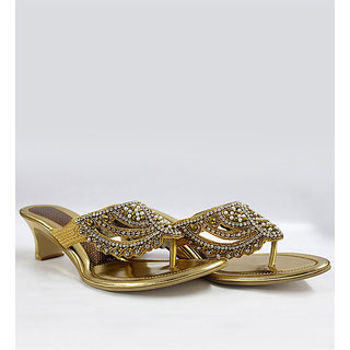 Diamond Studded Sandals - 6907220