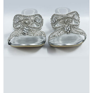 Diamond Studded Sandals - 6907448