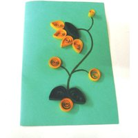 Handmade Quilled Greeting Card, Gift Card, Birthday Card