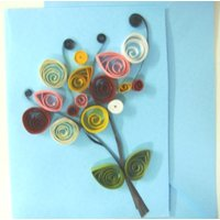 Handmade Quilled Greeting Card, Gift Card, Birthday Card - 6908730