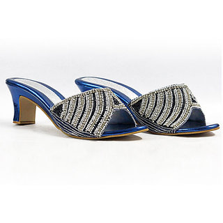 Diamond Studded Sandals - 6908220
