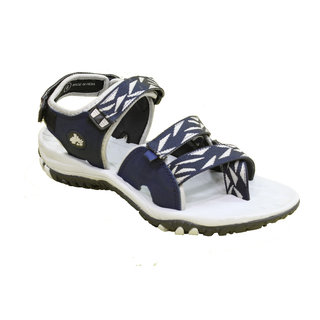 ABS Men's Grey & Blue Stylish Sandals